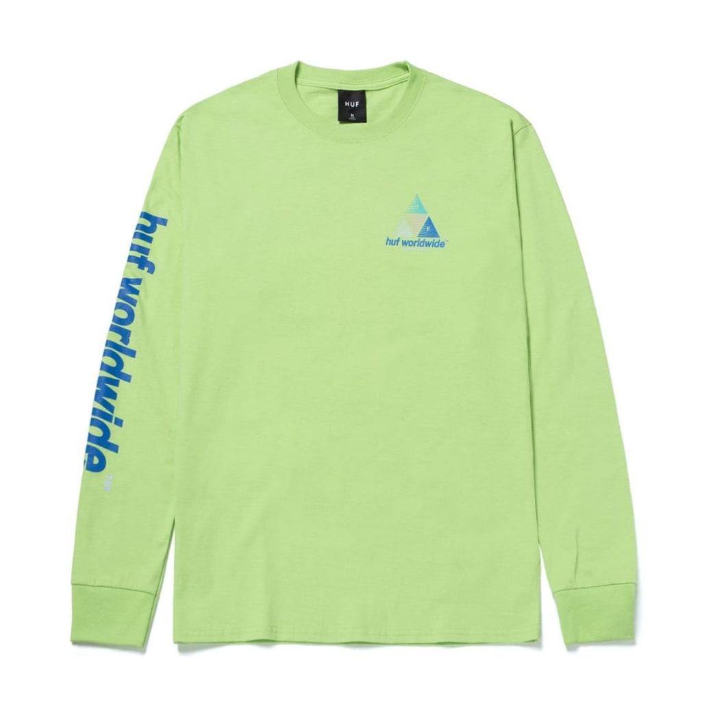 Huf Prism Logo Sportif Long Sleeve Tee | Longsleeve by HUF 1