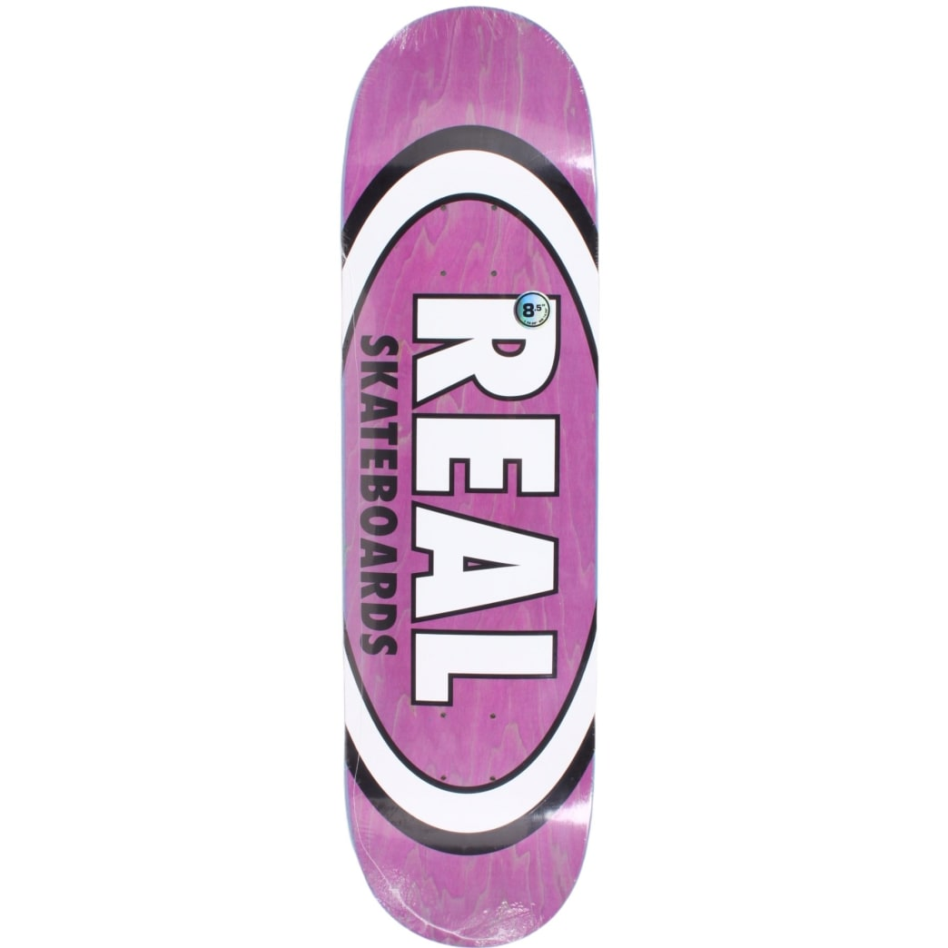 Real Classic Oval Purple Deck 8.5 Blemish Deck | Deck by Real Skateboards 1