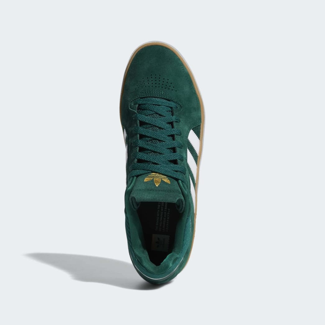 adidas Tyshawn Jones Shoes - Collegiate Green/Cloud White/Gum | Shoes by adidas Skateboarding 2