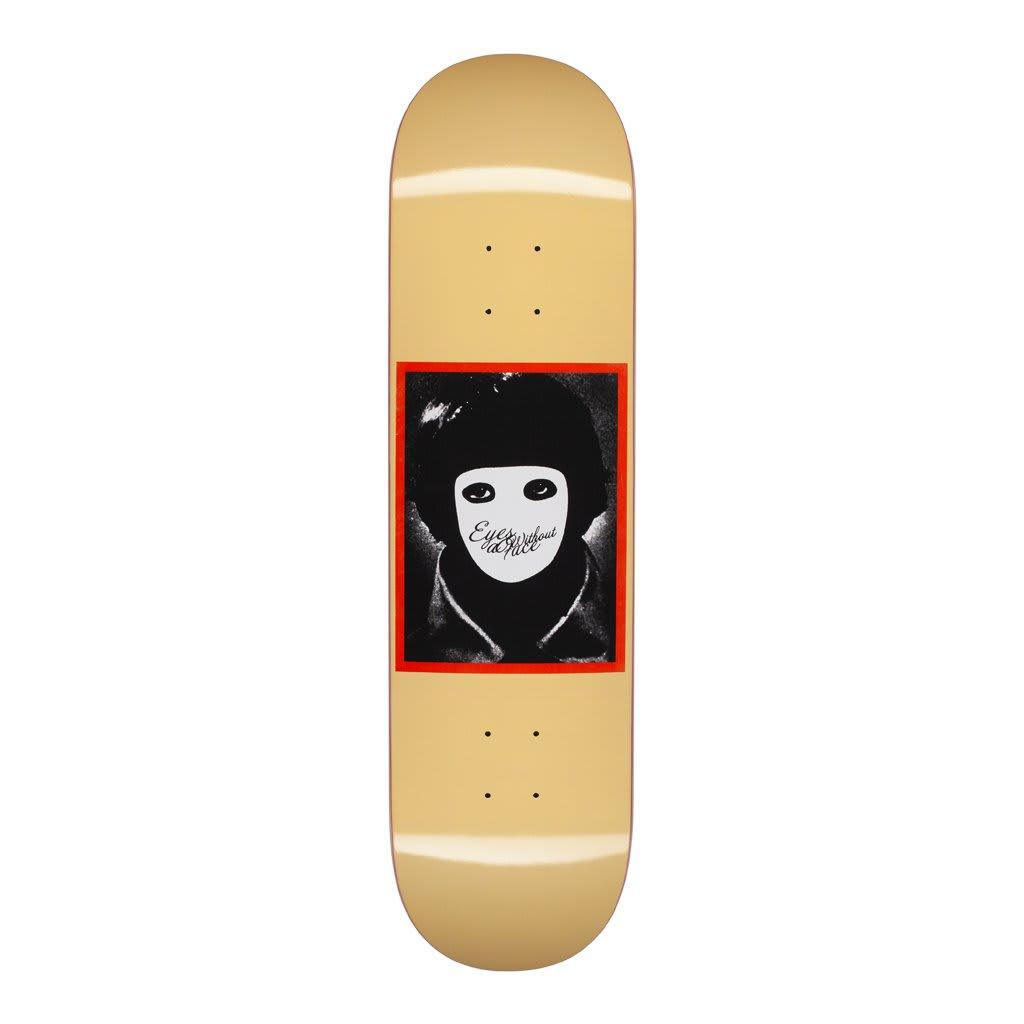 "Hockey No Face Yellow Skateboard Deck - 8.25"" | Deck by Hockey Skateboards 1"