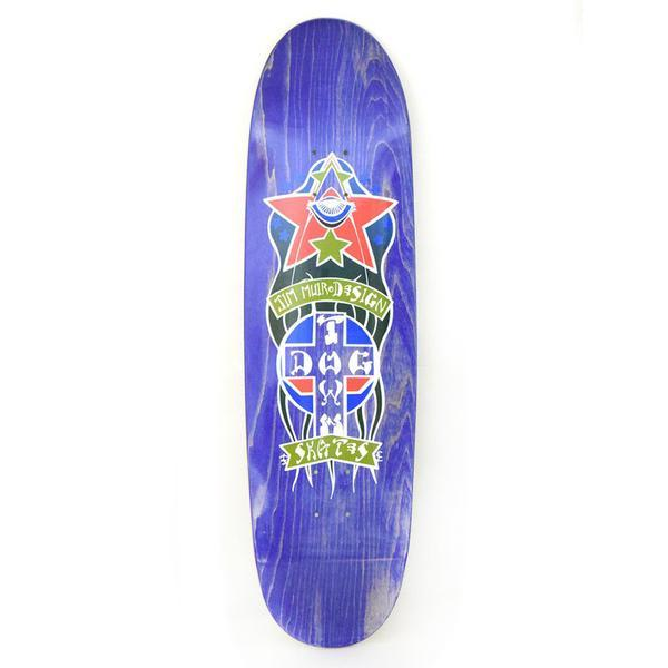 Dogtown Jim Muir Triplane Egg Skateboard Deck Purple Stain - 9.00 x 32.75 | Deck by Dogtown 1