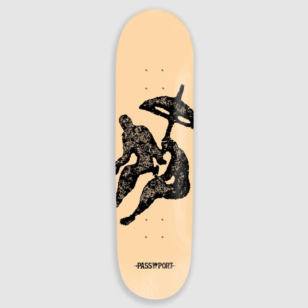 "Pass Port Skateboards - 8.25"" Life Of Leisure Beach Skateboard Deck | Deck by Pass~Port Skateboards 1"