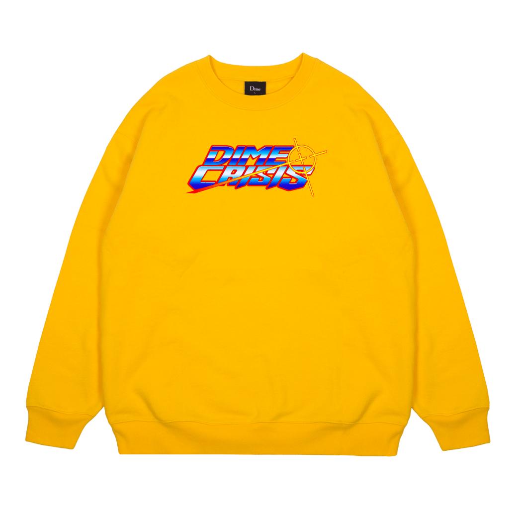 Dime Crisis Crewneck - Yellow | Sweatshirt by Dime MTL 1