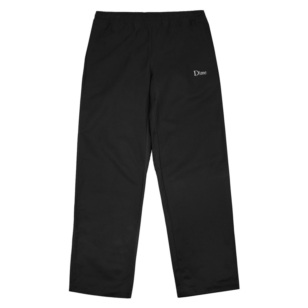 Dime Twill Pants - Black | Trousers by Dime MTL 1
