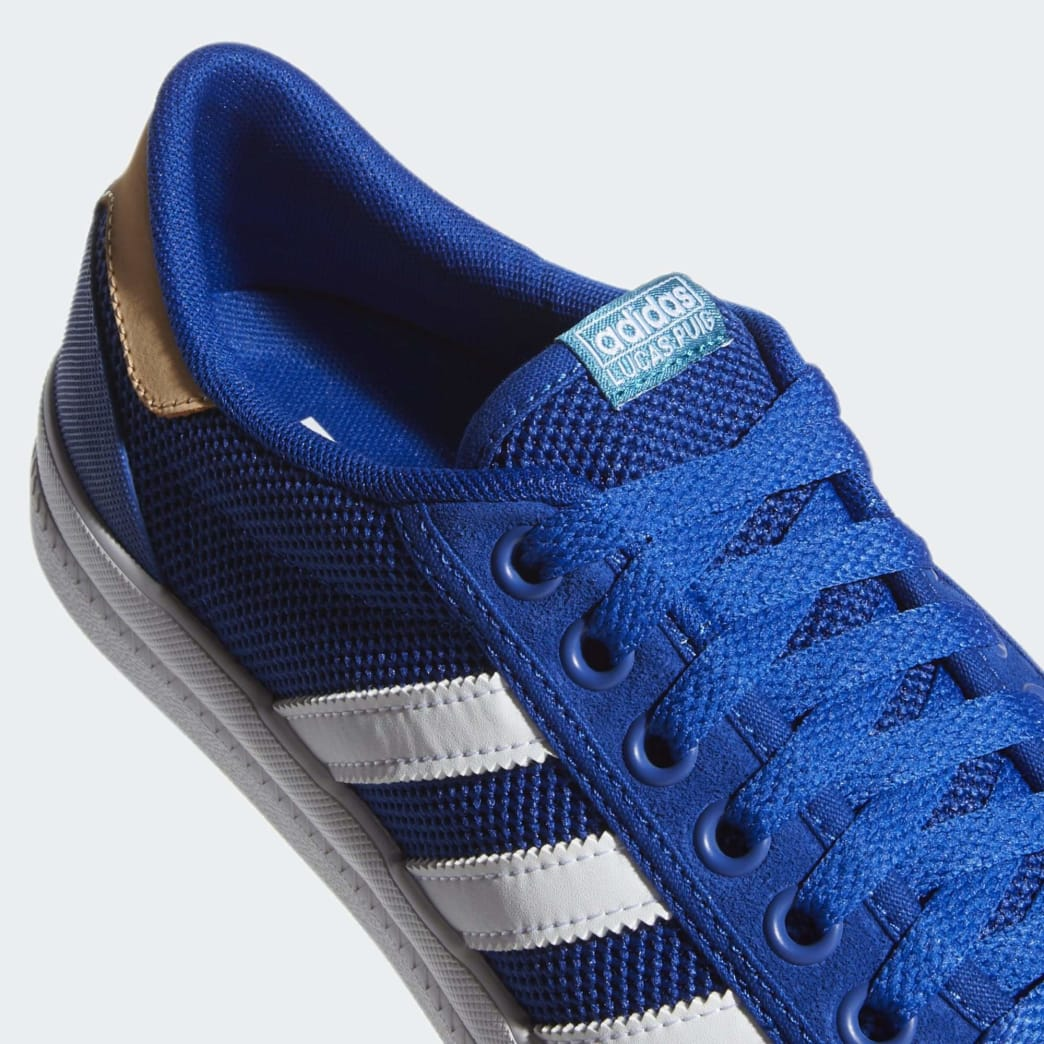 Adidas Lucas Premiere Shoes - Collegiate Royal/Cloud White/Glow Orange | Shoes by adidas Skateboarding 7