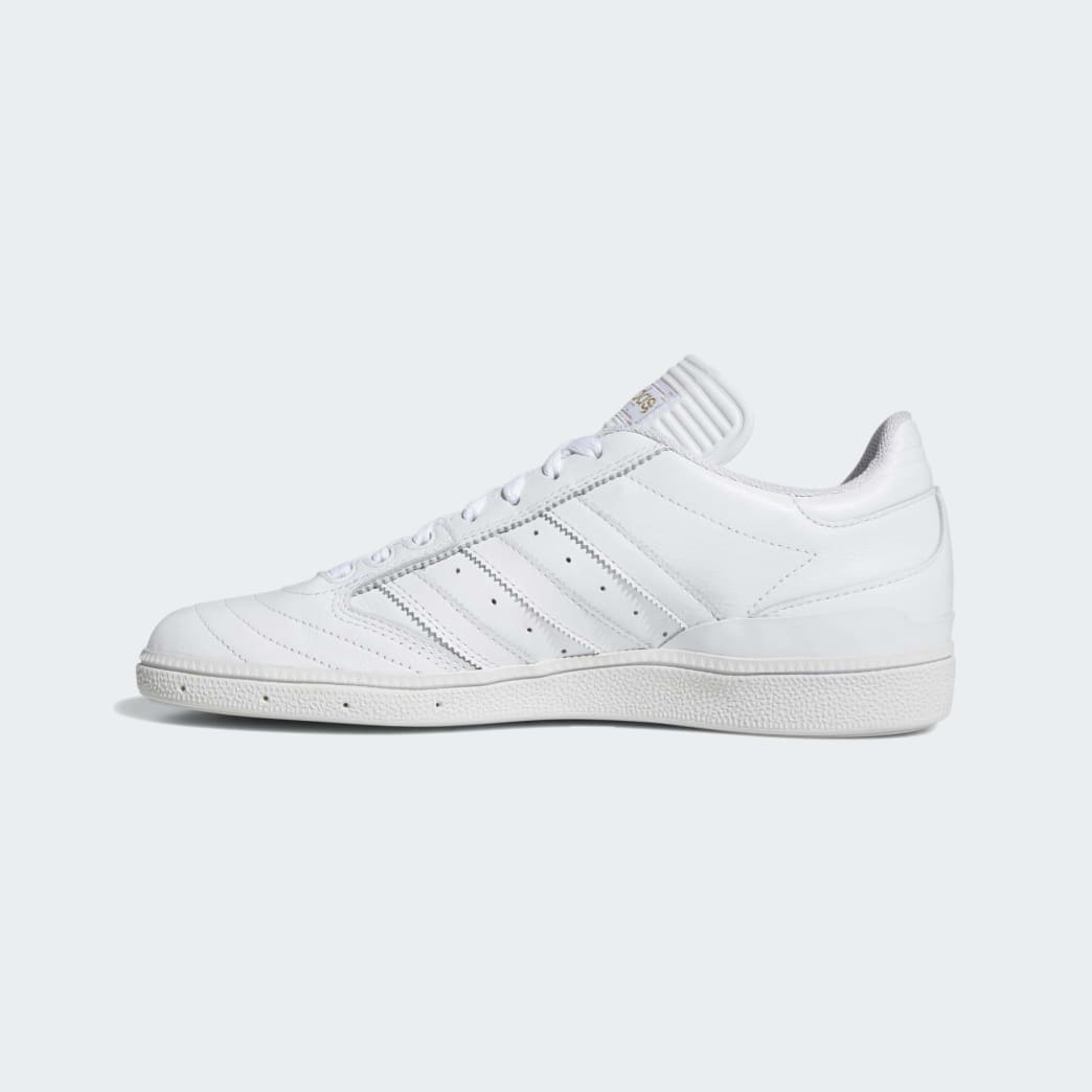 Adidas Busenitz Shoes - Cloud White/Gold Metallic/Cloud White | Shoes by adidas Skateboarding 6
