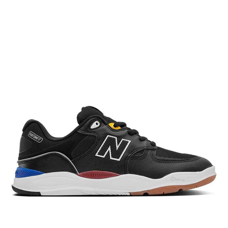 New Balance Numeric Tiago 1010 Skate Shoes - Black Leather | Shoes by New Balance 1