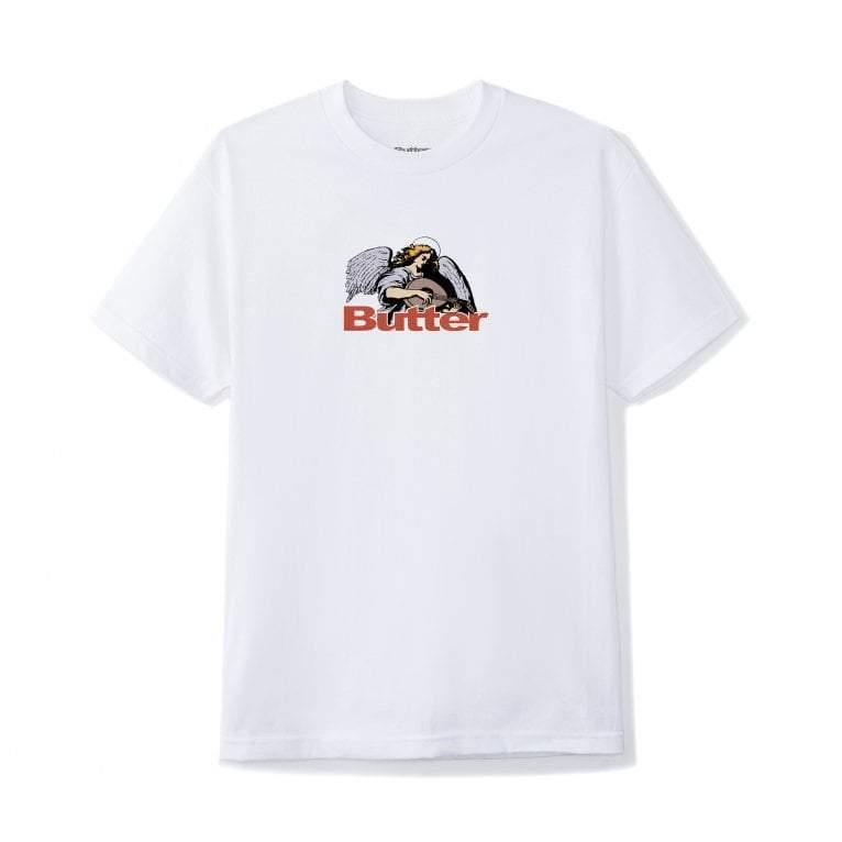 Butter Goods Serenade Logo T-Shirt - White | T-Shirt by Butter Goods 1