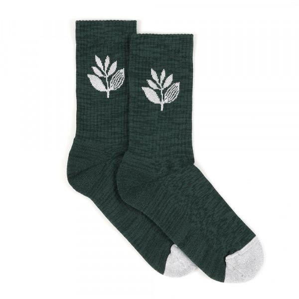 Magenta Plant Socks - Green | Socks by Magenta Skateboards 1