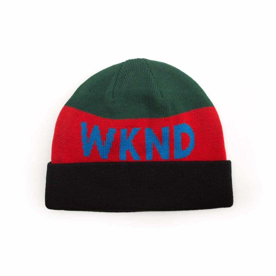 WKND Collision Watchcap Beanie - Green | Beanie by WKND 1