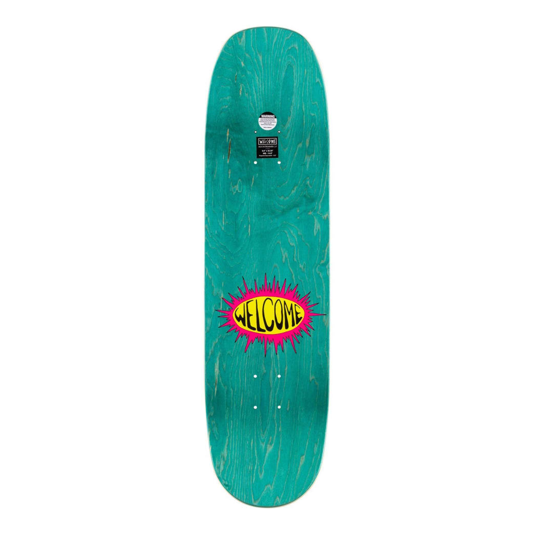 """Welcome - Twenty Eyes On Moontrimmer 2.0 Deck (8.5"""") 
