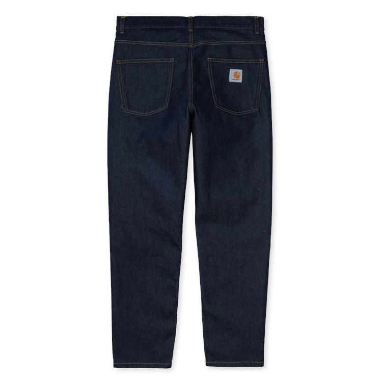 Carhartt WIP Newel Pant - Blue Rinsed   Trousers by Carhartt WIP 1