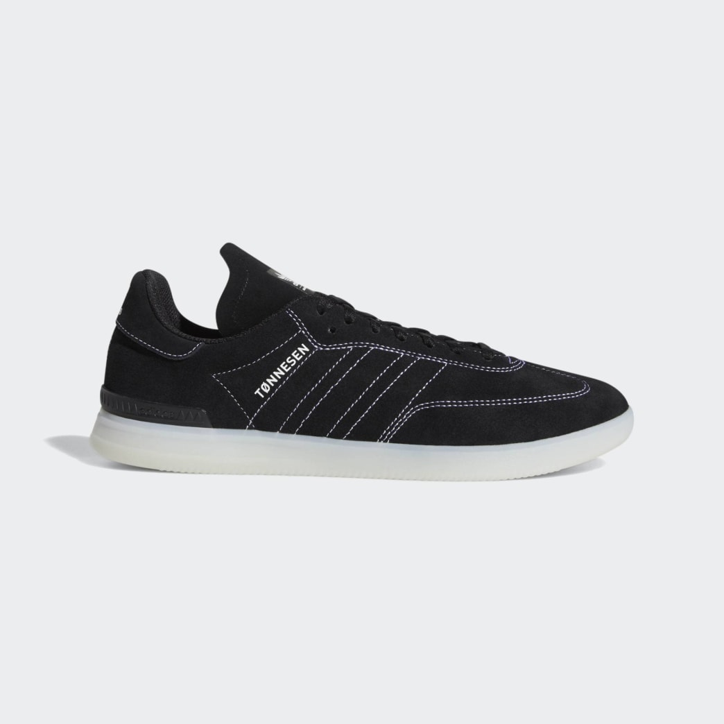Adidas Samba ADV Shoes - Core Black/Cloud White/Crystal White | Shoes by adidas Skateboarding 1