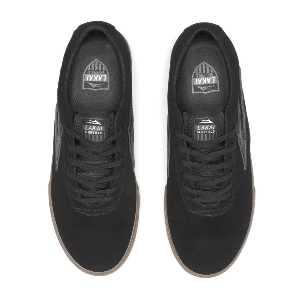 Lakai Sheffield Shoes - Black/Gum Suede | Shoes by Lakai 3