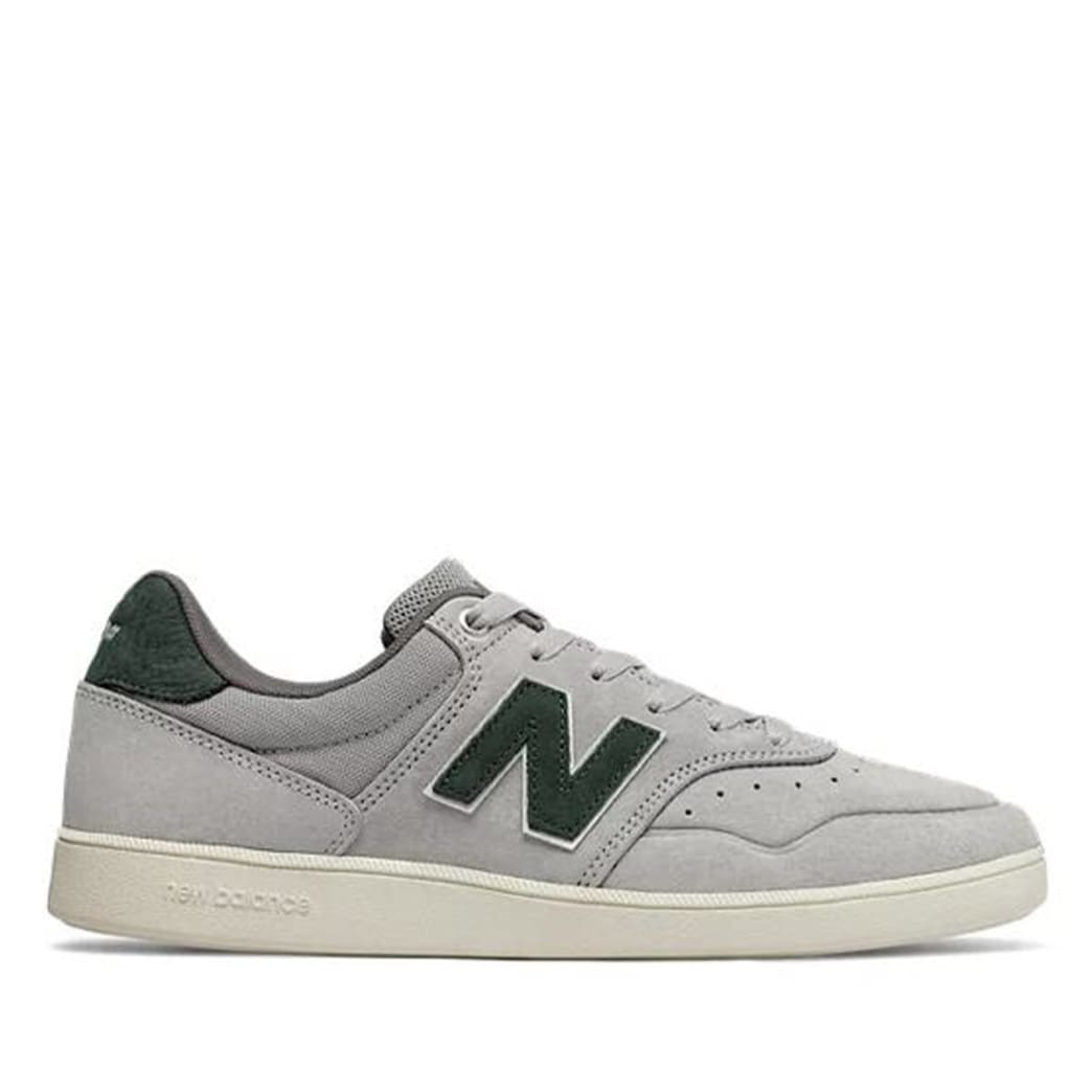 New Balance Numeric 288 Skate Shoe - Grey / Forest Green | Shoes by New Balance 1