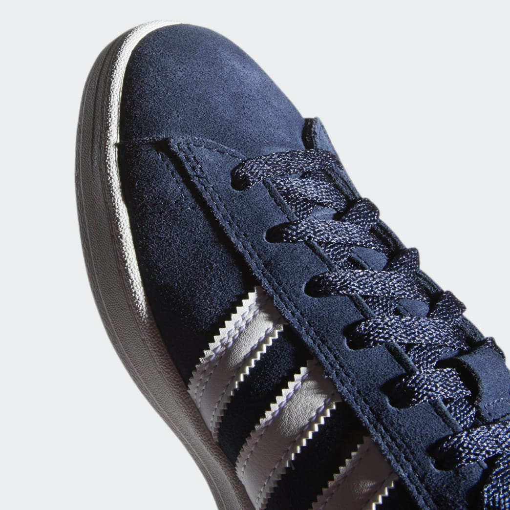 Adidas Campus ADV Shoes - Collegiate Navy/Cloud White/Cloud White | Shoes by adidas Skateboarding 9
