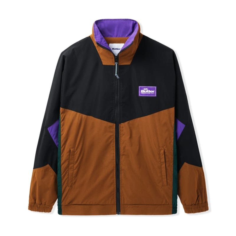 Butter Goods Geometric Jacket Brown/Purple | Jacket by Butter Goods 1