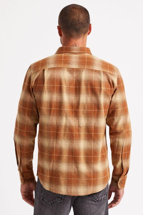 BRIXTON BOWERY L/S FLANNEL - COPPER | Shirt by Brixton 4
