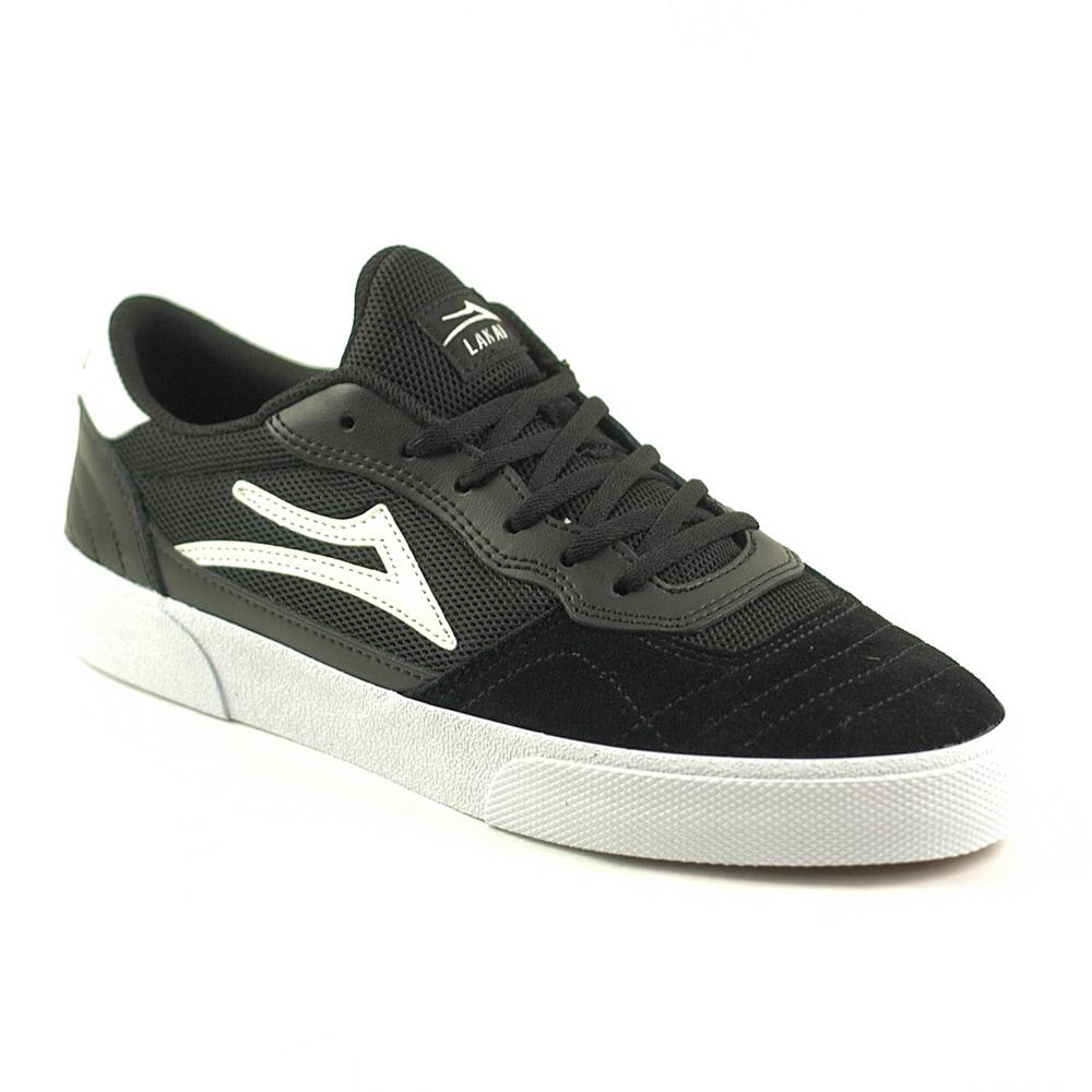 Lakai Cambridge Black White Suede | Shoes by Lakai 3