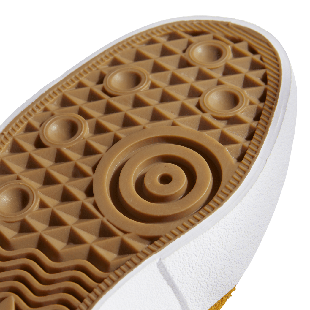 adidas Matchbreak Super Skate Shoes - Tactile Yellow / FTWR White / Gold Met | Shoes by adidas Skateboarding 9