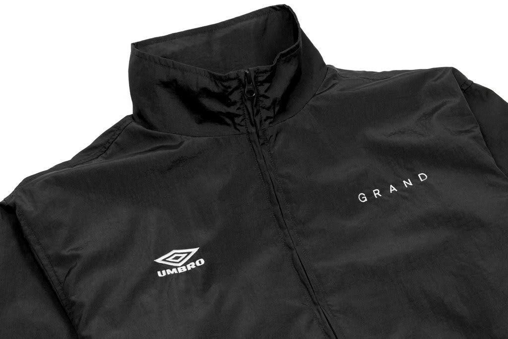 Grand Collection x Umbro Jacket - Black | Track Jacket by Grand Collection 2