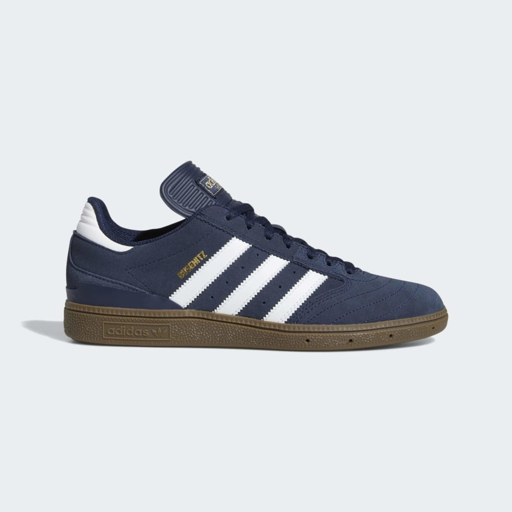 Adidas Busenitz Shoes - Collegiate Navy/Cloud White/Gum 5 | Shoes by adidas Skateboarding 1