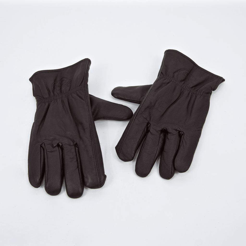 Dickies - Memphis Leather Gloves - Dark Brown | Gloves by Dickies 1
