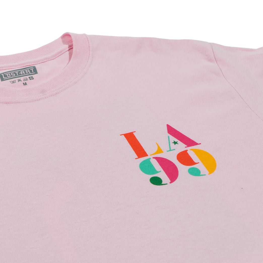 Lost Art - Icon Tee Light Pink | T-Shirt by Lost Art 3