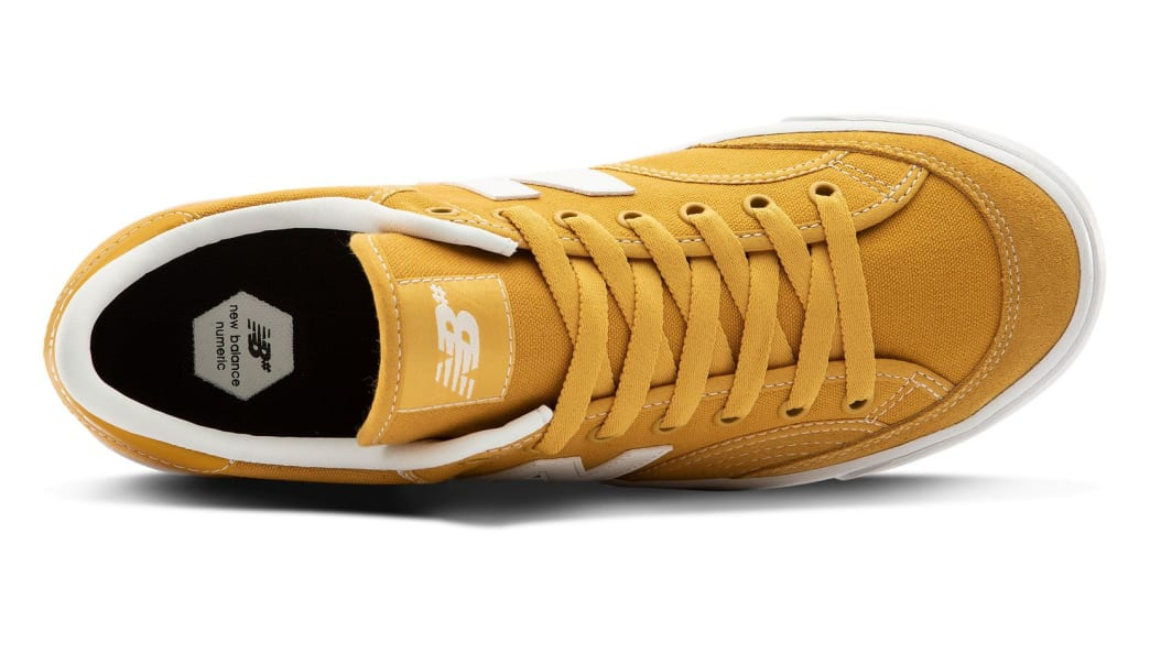 New Balance Numeric 212 Skate Shoes - Yellow / White | Shoes by New Balance 3