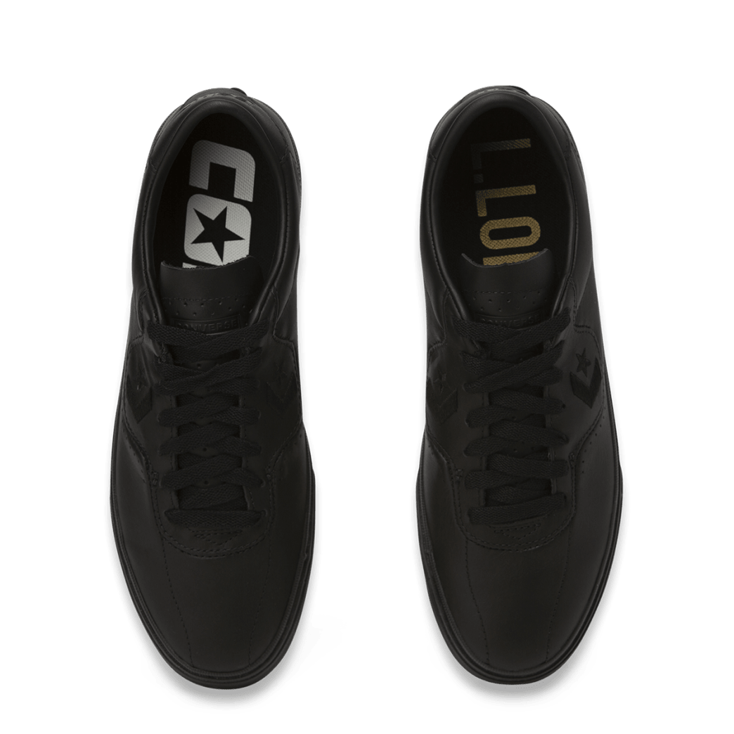 Converse Cons Leather Louie Lopez Pro Skateboarding Shoes - Black/Black/Black | Shoes by Converse Cons 6