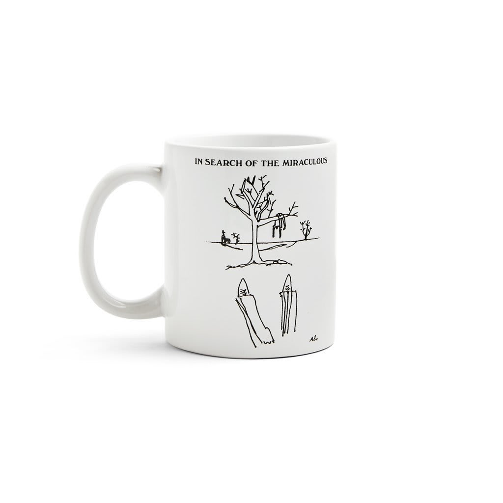 Polar Skate Co Coffee Mug - In Search Of the Miraculous | Mug by Polar Skate Co 1