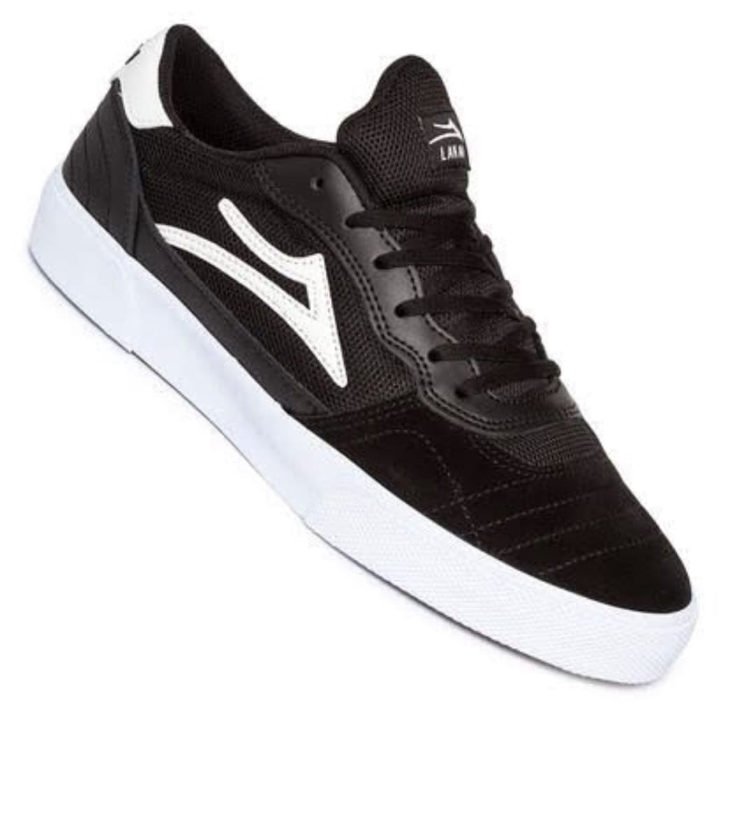 Lakai Cambridge Black White Suede | Shoes by Lakai 1