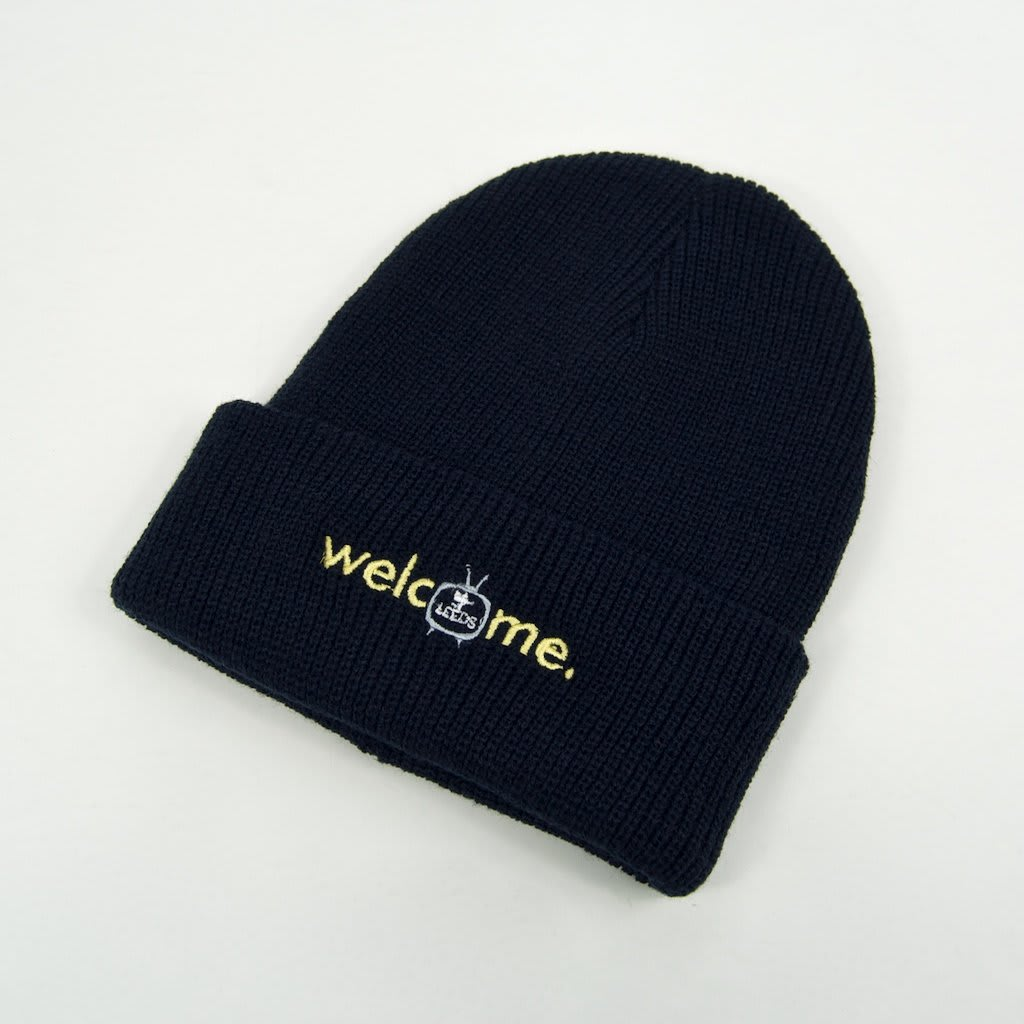 Welcome Skate Store - Noughties Beanie - Navy | Beanie by Welcome Skate Store 1