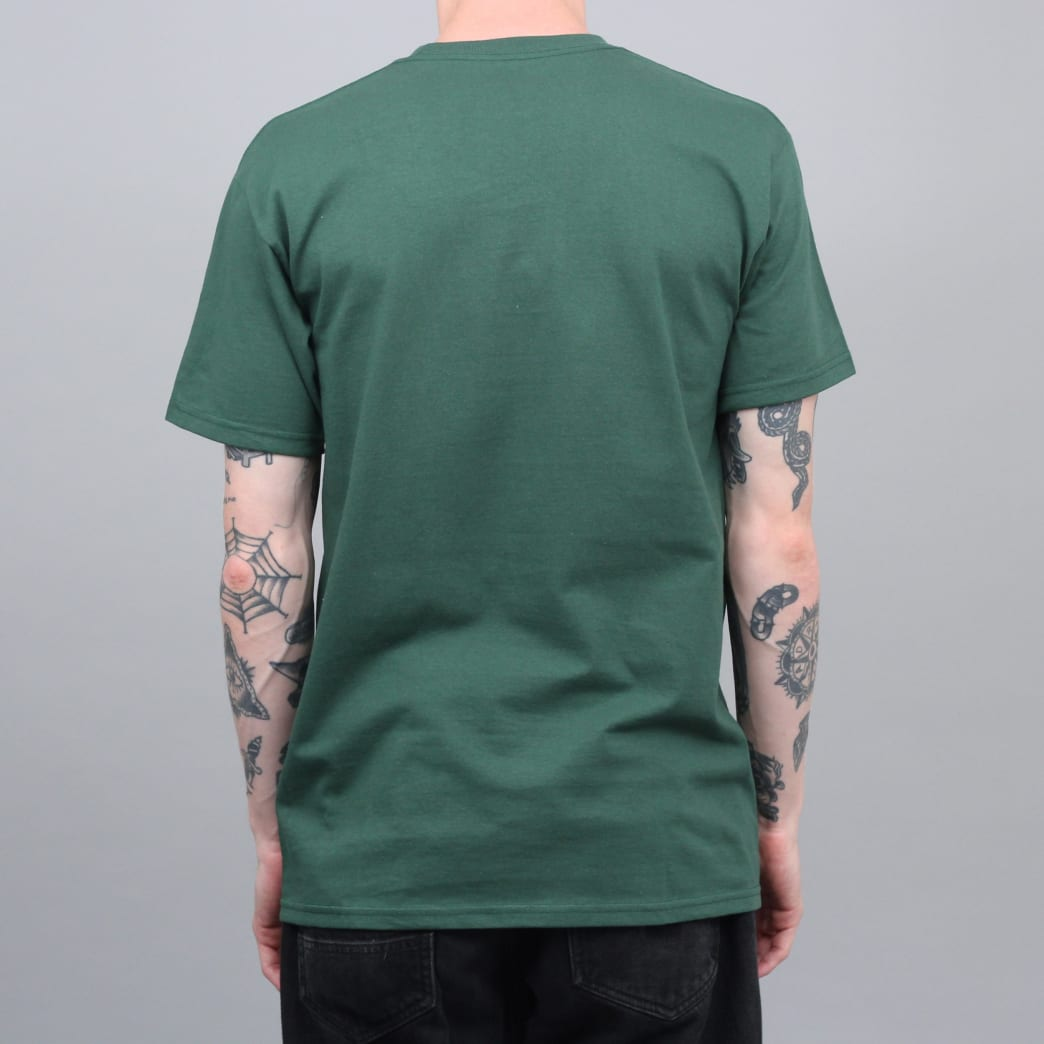Anti Hero Grimple Stix Eagle T-Shirt Forest Green | T-Shirt by Antihero Skateboards 3