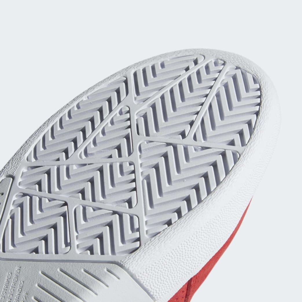 adidas Tyshawn Skateboard Shoes - Scarlet/Cloud White/Core Black | Shoes by adidas Skateboarding 9