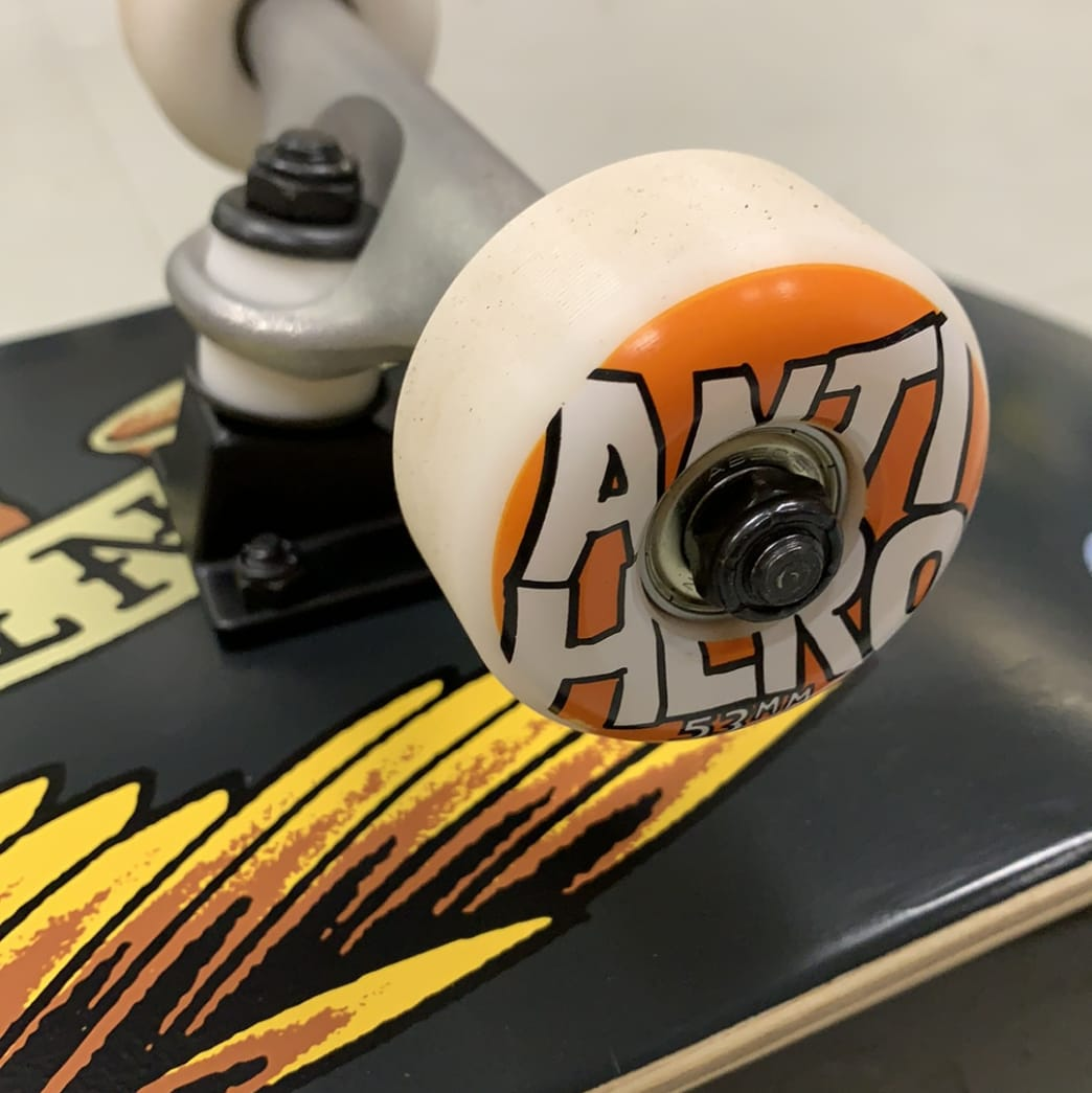 AntiHero Skateboards Grey Eagle Logo Complete 8.25 Larger | Complete Skateboard by Antihero Skateboards 2