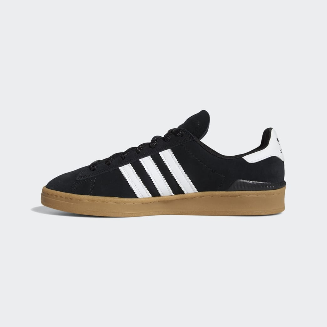 Adidas Campus ADV Shoes - Core Black/Cloud White/Gum 4 | Shoes by adidas Skateboarding 4