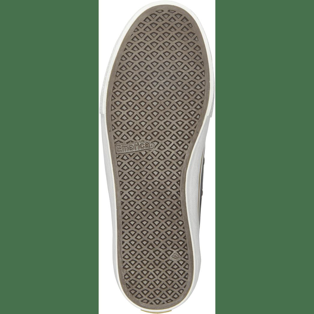 Emerica Omen Lo x Sasha Barr Reserve Skate Shoes - Black Raw | Shoes by Emerica 3
