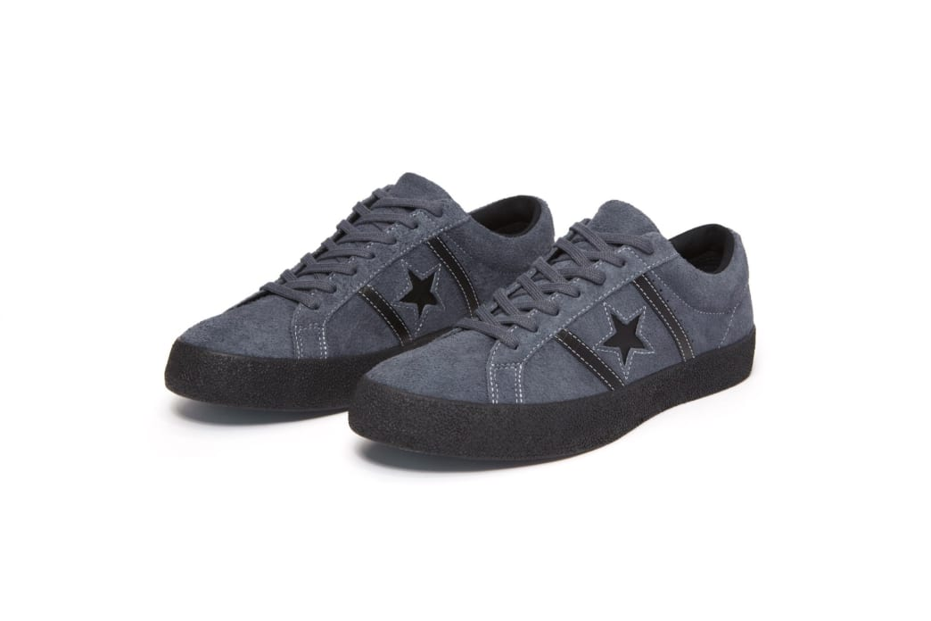 Converse Cons One Star Academy OX Skateboarding Shoes - Sharkskin/Black | Shoes by Converse Cons 3