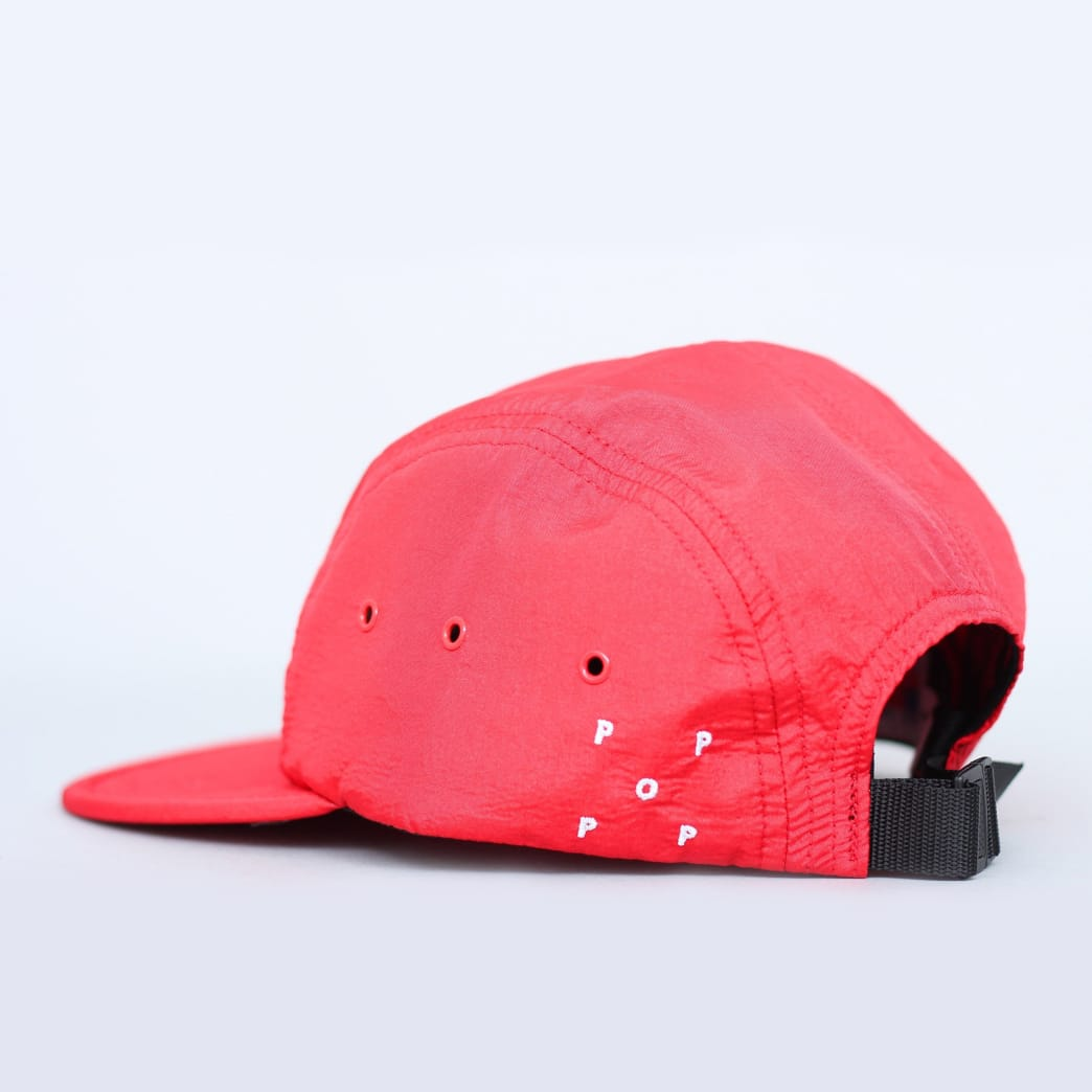 3a73c65568722 Pop Trading Pub 5 Panel Cap Red | Cap by Pop Trading Company 2