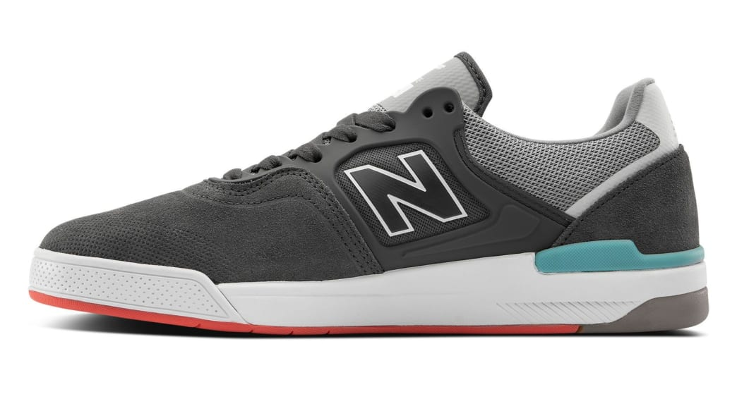 New Balance Numeric 913 Skate Shoes - Grey / White   Shoes by New Balance 2