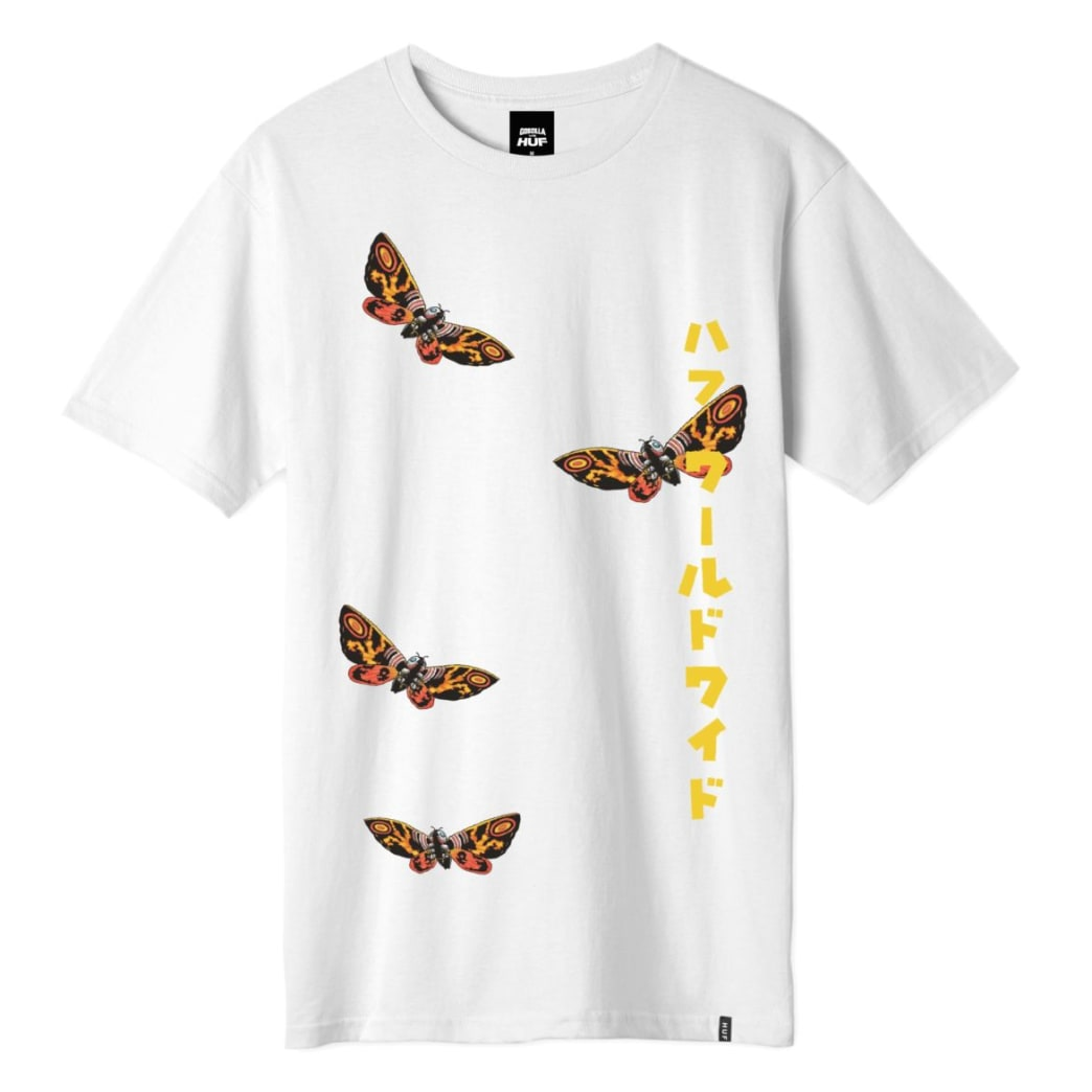 Huf Mothra SS T Shirt | T-Shirt by HUF 1