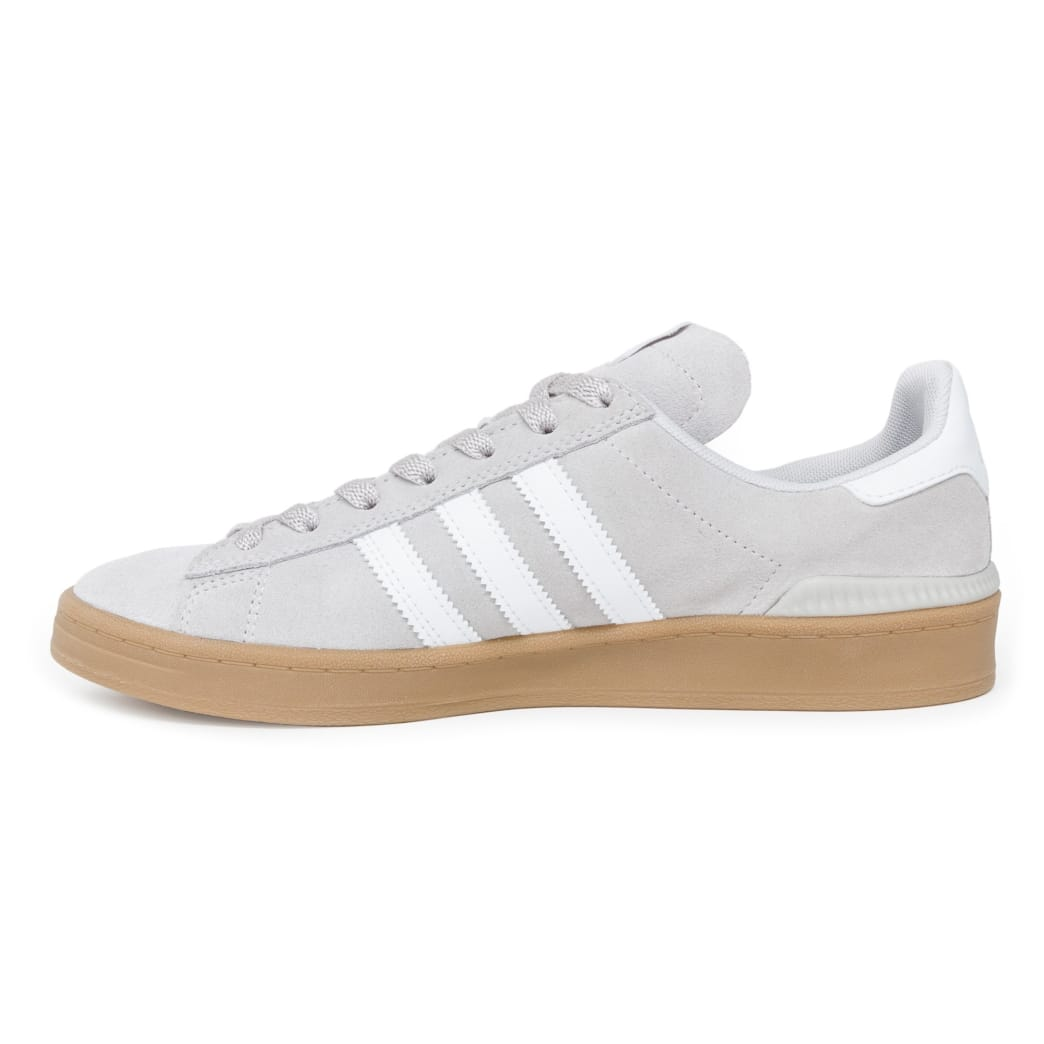61fd9be313a Shop Adidas Campus ADV Shoes - Grey One White Gold