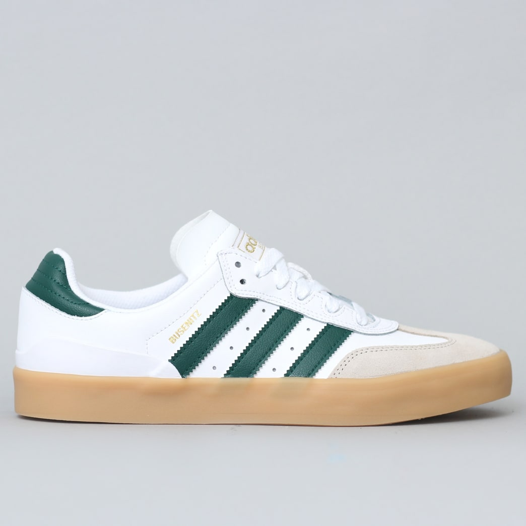 adidas Busenitz Vulc RX Shoes FTWR White / Collegiate Green / Gum3 | Shoes by adidas Skateboarding 1
