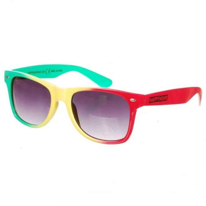 Happy Hour One Love - Red/Yellow/Green | Sunglasses by Happy Hour 1