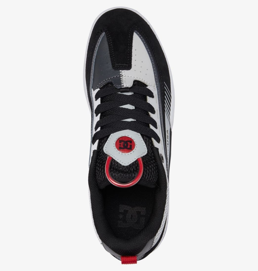 DC Legacy 98 Slim Skate Shoes - Black / Grey / Red | Shoes by DC Shoes 4