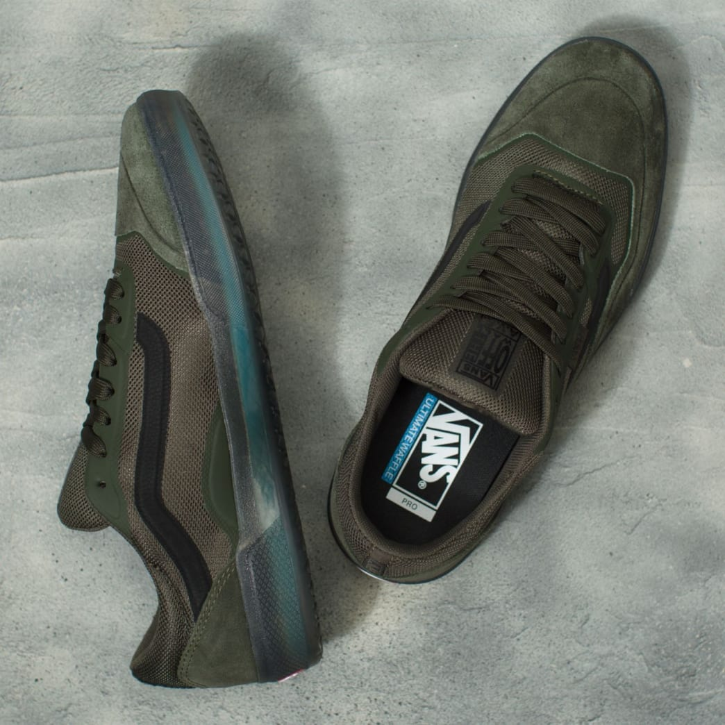 Vans AVE Pro Rainy Day Skate Shoes - Forest Night / Black | Shoes by Vans 3