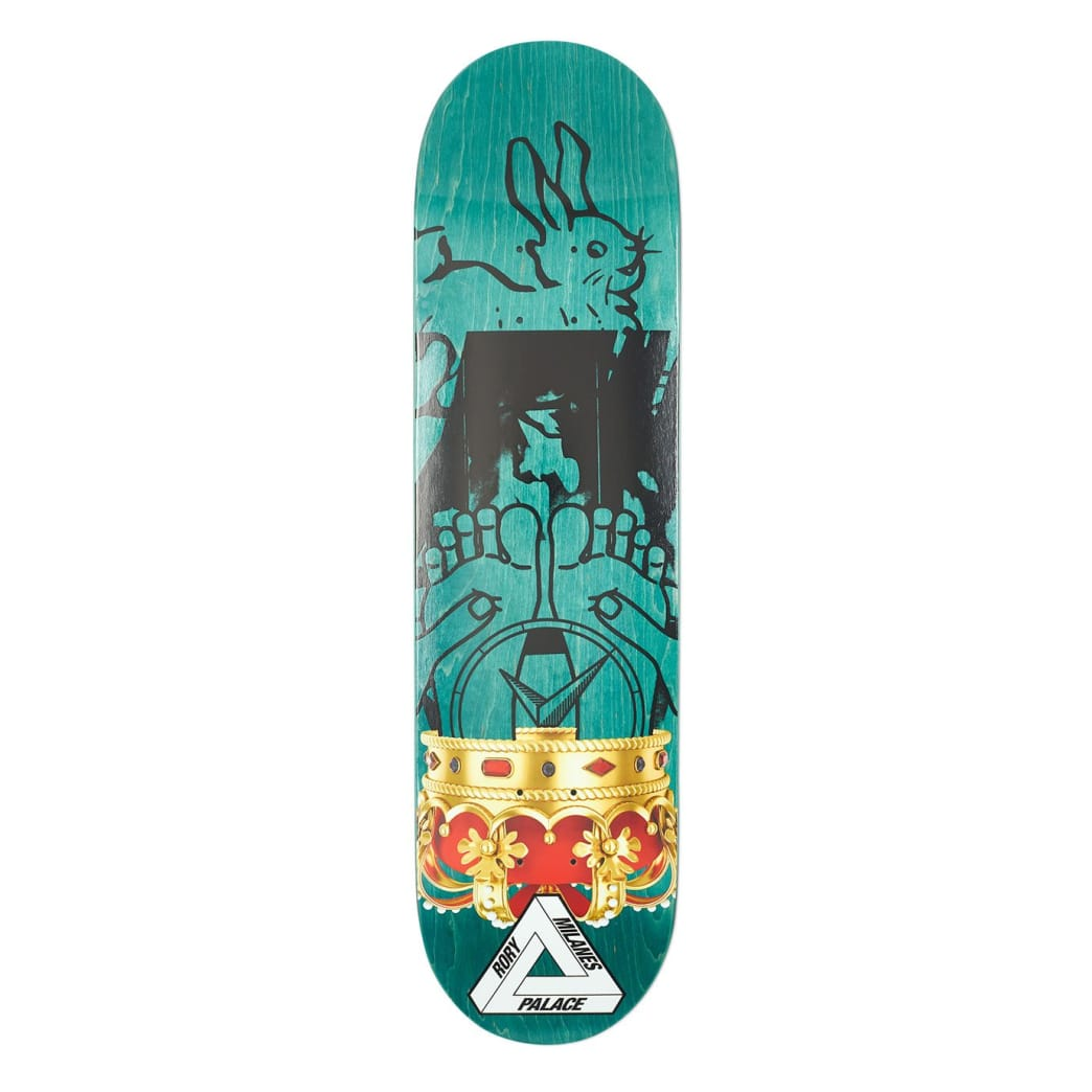 "Palace Skateboards Rory S17 8.06"" Skateboard Deck 