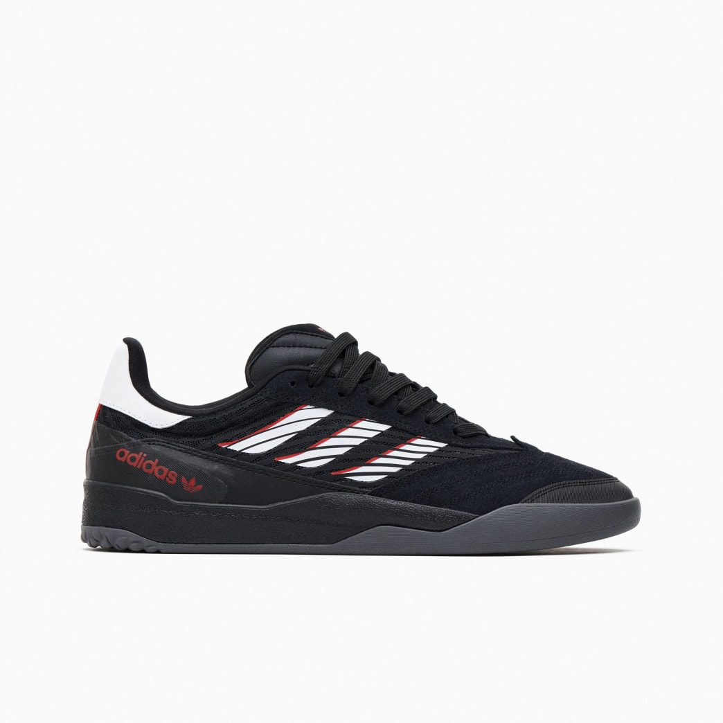 Adidas Copa Nationale Skate Shoe - Core Black / FTWR White / Scarlet | Shoes by adidas Skateboarding 1