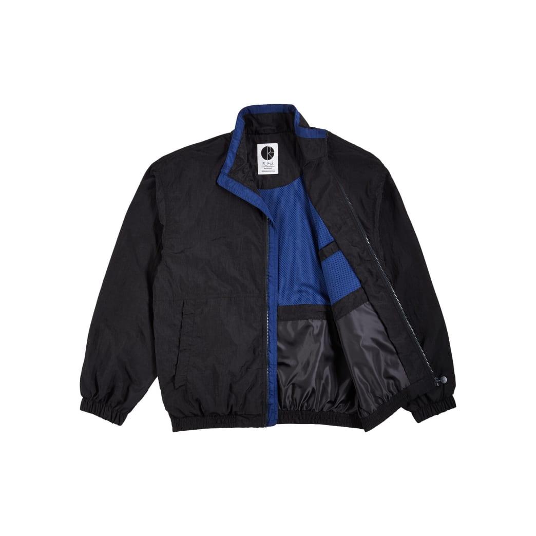 Polar Skate Co Track Jacket - Black / Blue | Track Jacket by Polar Skate Co 3